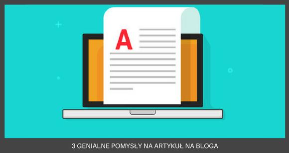 Blog- grafiki do wpisów