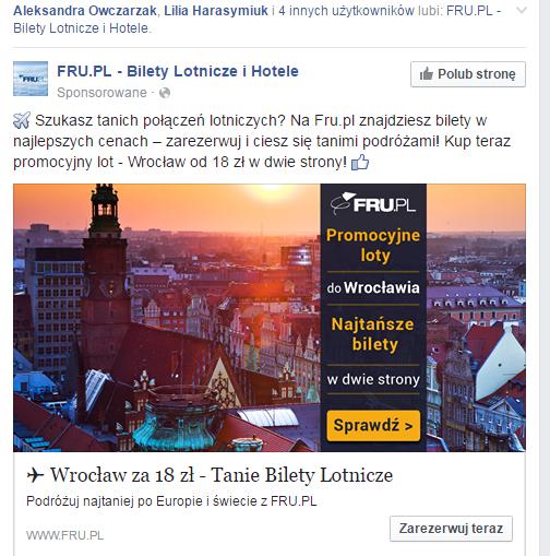 ile kosztuje reklama na facebook?