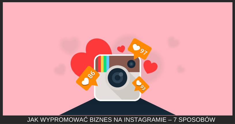 Biznes na Instagramie